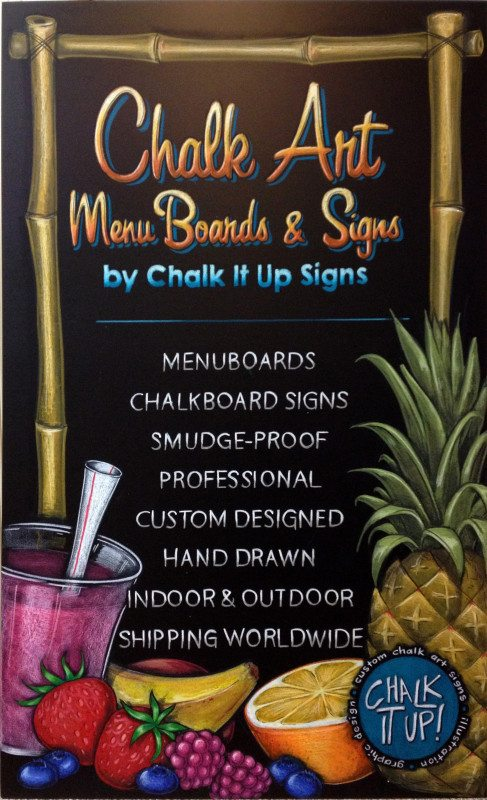 chalk It Up Signs